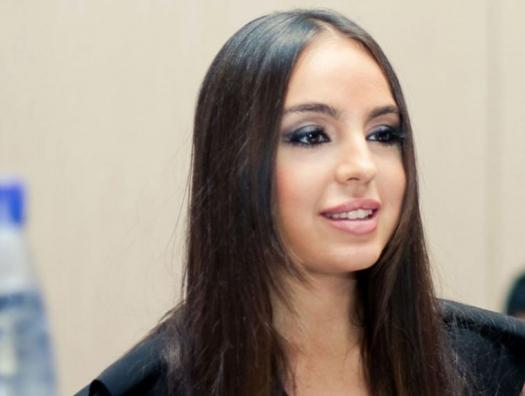 Лейла Алиева желает счастья Эмину Агаларову