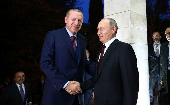 Путин назвал условие похода сЭрдоганом вресторан