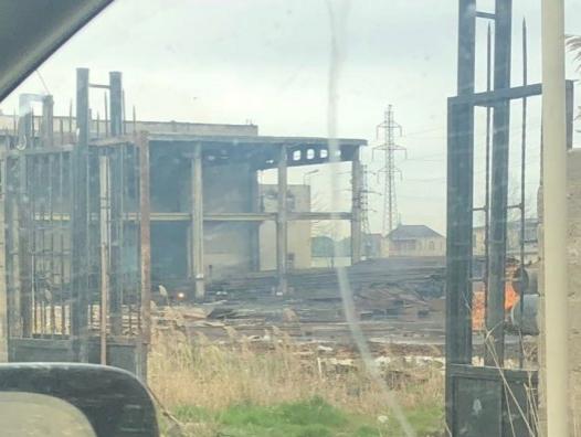 Взрыв на заводе братьев Зульфугарлы