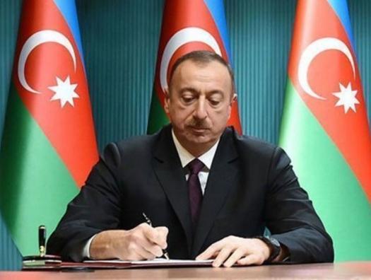 Ильхам Алиев подписал некролог