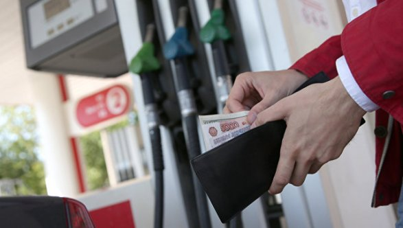 В РФ  впервый раз  сконца мая увеличились  оптовые цены набензин