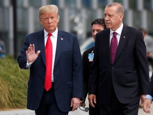 Трамп: «У меня были очень хорошие отношения с Эрдоганом, но...»