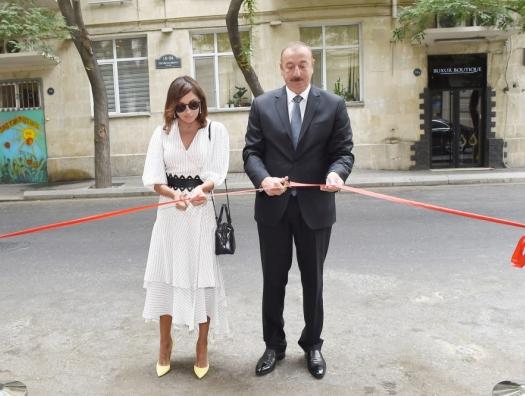 Алиевы открыли книжный центр в Баку