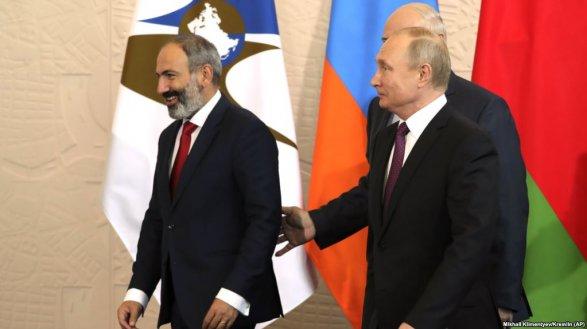 Анонсирована встреча В.Путина  иПашиняна