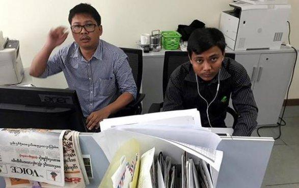Писавших очистках вМьянме репортеров Reuters посадили на7 лет