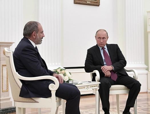 Протокол Путина грубо остановил Пашиняна