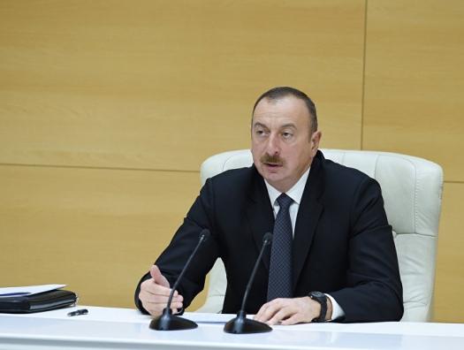 """Ильхам Алиев: """"Вся ответственность ляжет лично на Пашиняна"""""""
