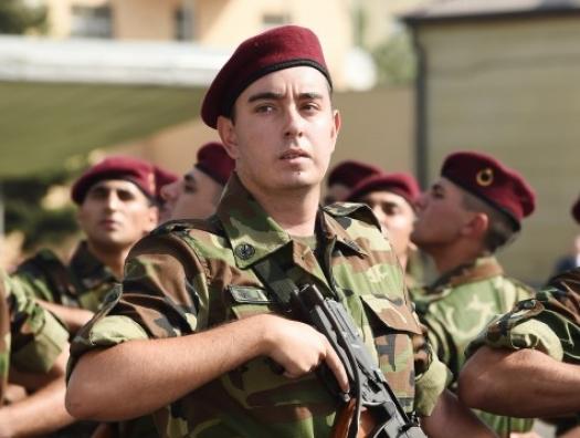 Солдат Гейдар Алиев присягнул Азербайджану