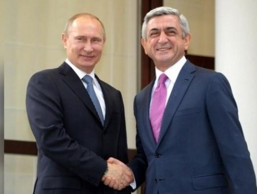 Путин едет к Кочаряну и Саргсяну