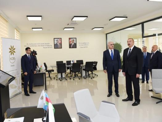 Ильхаму Алиеву представили новый проект – «Друзья МСБ»