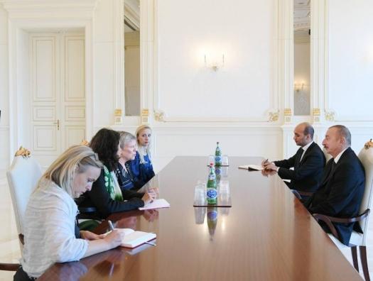 Замгенсека НАТО на переговорах с Ильхамом Алиевым