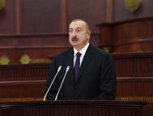 Ильхам Алиев: Нагорный Карабах не получит никакого статуса за пределами суверенитета Азербайджана