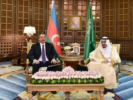 Ильхам Алиев поздравил короля и наследного принца Саудовской Аравии