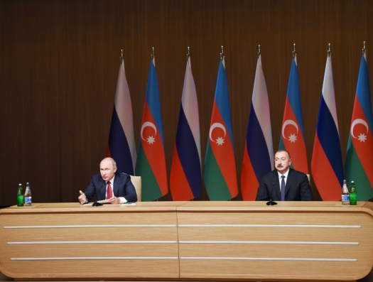"""Путин: """"Мы с Азербайджаном ищем баланс интересов"""""""