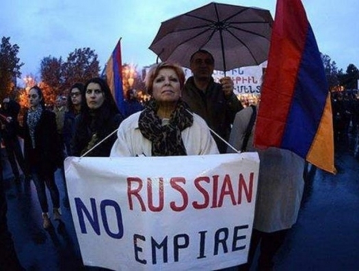 Армении уготовили судьбу Украины