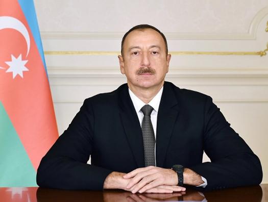 Ильхам Алиев в Ленкорани