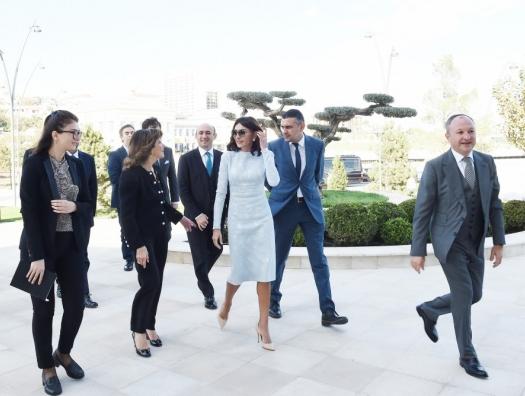 Председатель Сената Италии на встрече с Мехрибан Алиевой