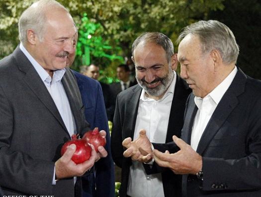 «Путинский союз» охватили торговые войны: Россия против Армении, Беларусь против Кремля, Назарбаев воюет с Бишкеком…