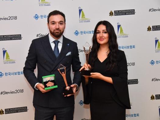 Gilan Holding победил в трех номинациях престижной Stevie Awards