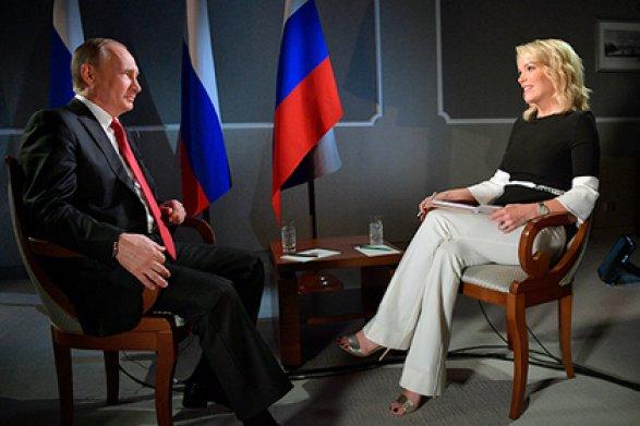Взявшую интервью у Владимира Путина Мегин Келли увольняют из-за расистского скандала