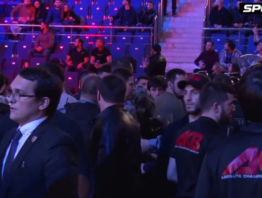 Массовая драка между армянами и азербайджанцами в Москве