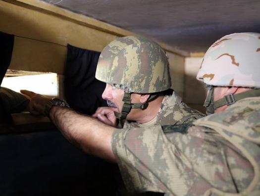 Минобороны Азербайджана и Армении в борьбе за границу в Нахчыване