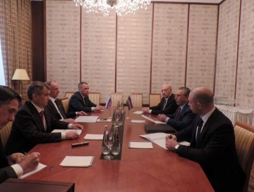 Мехтиев провел переговоры с Патрушевым