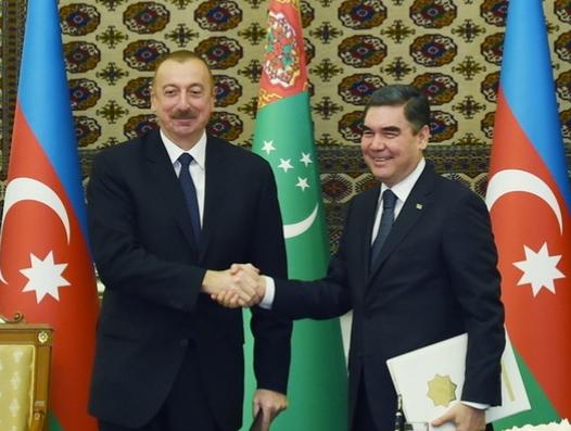 Ильхам Алиев и Бердымухамедов договорились и по «Лазуриту»