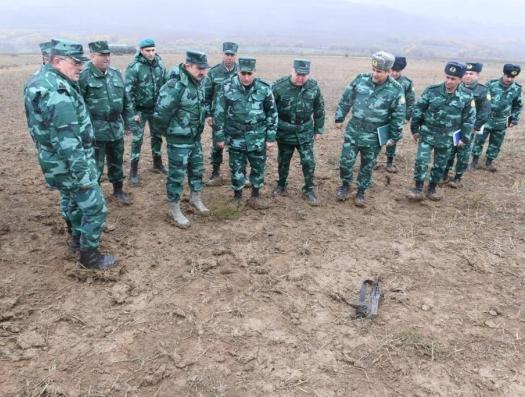По азербайджанским пограничникам открыли огонь