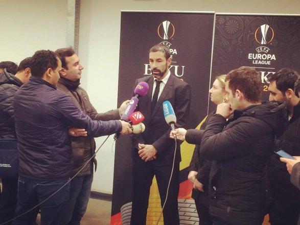 Чемпион мира и Европы Робер Пирес в Баку