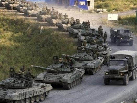 Сотни российских танков на границе с Украиной