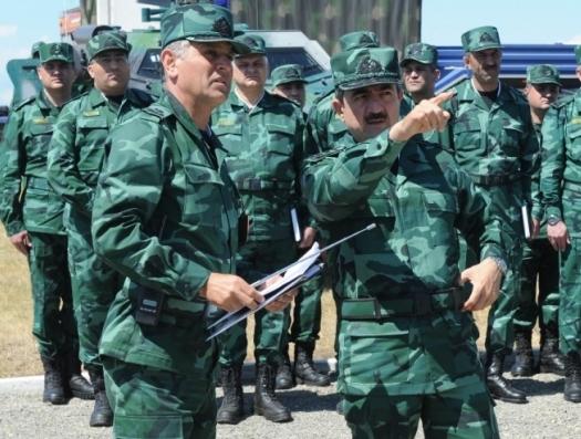 Войска Эльчина Гулиева заняли границу с Арменией
