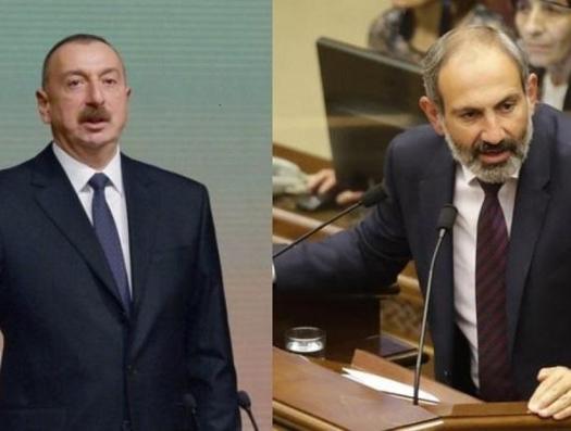 Алиев и Пашинян написали в Твиттере о Карабахе