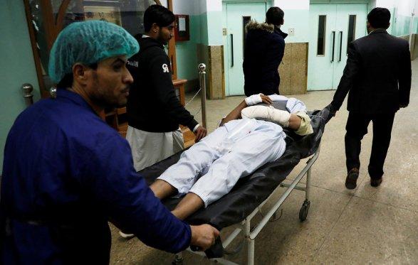 Встолице Афганистана около министерства взорвалась машина