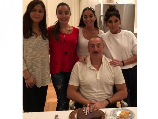 Лейла Алиева: «Пусть Бог хранит всех отцов и моего любимого папу»