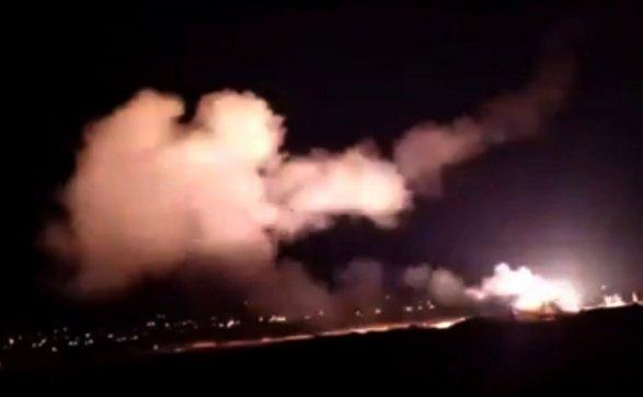 Сирия жаловалась  впредставительстве ООН  наатаки Израиля