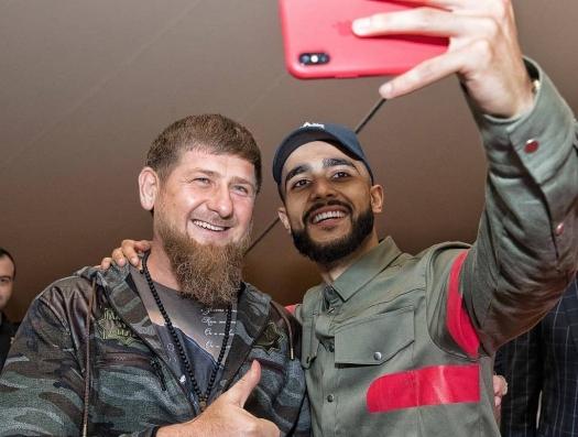 Рамзан Кадыров опубликовал фото с известным азербайджанским блогером
