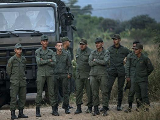 Мадуро теряет контроль над границами