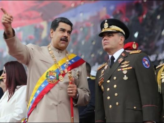 США вводят санкции против венесуэльских военных