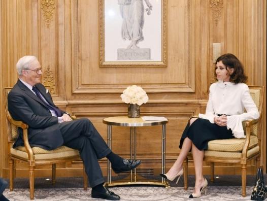 Мехрибан Алиева проводит встречи во Франции
