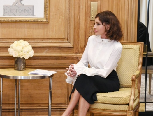 Мехрибан Алиева встретилась с Саркози