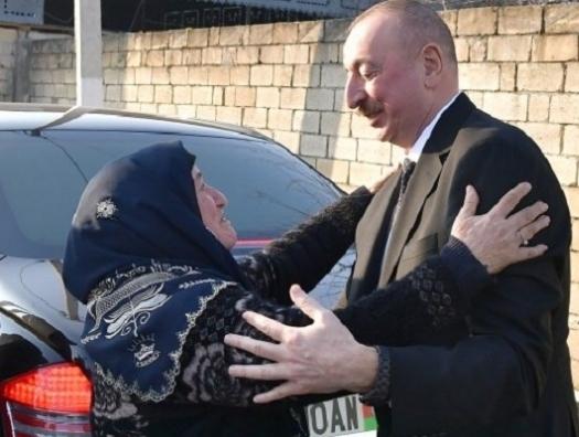 Бабушка попросила, Ильхам Алиев сделал