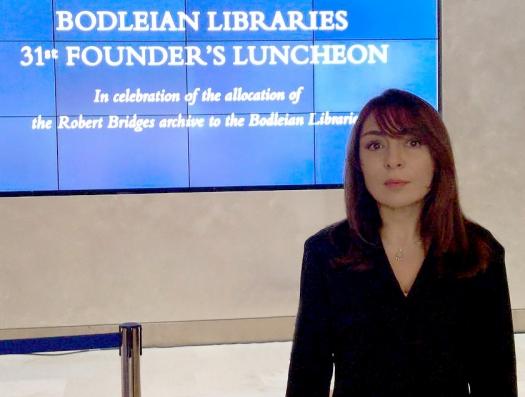 Что увидела и услышала Наргиз Пашаева в сакральной библиотеке