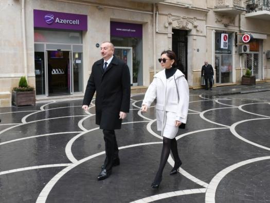 Ильхам Алиев на торжествах по случаю праздника Новруз