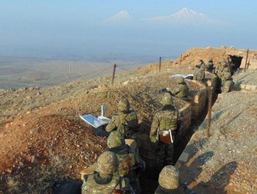 В Армении взбунтовались солдаты одной из воинских частей