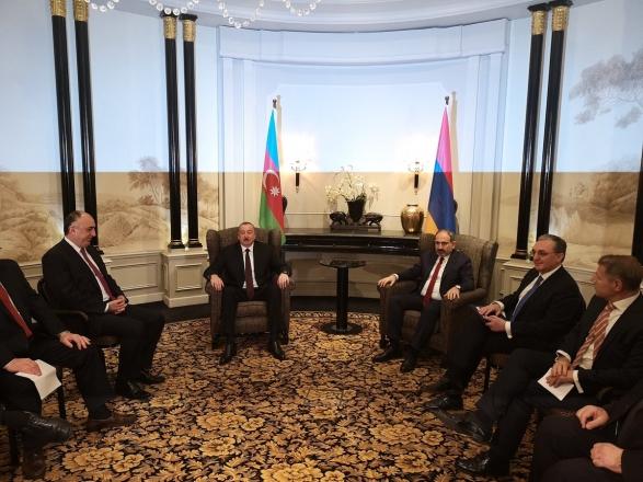 В Вене стартовала встреча Алиева и Пашиняна