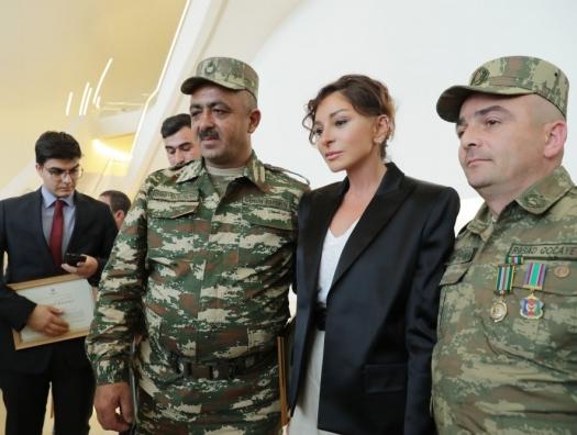 Мехрибан Алиева: «В Карабахе будет развеваться флаг Азербайджана»
