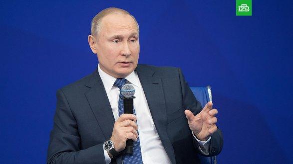 Путин объявил онеобходимости обеспечивать свободу интернета