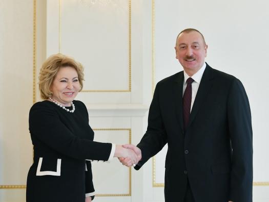 СМИ исказили слова Валентины Матвиенко во время визита в Азербайджан