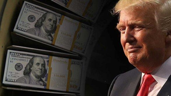 Трамп собрал неменее $40 млн насвое переизбрание